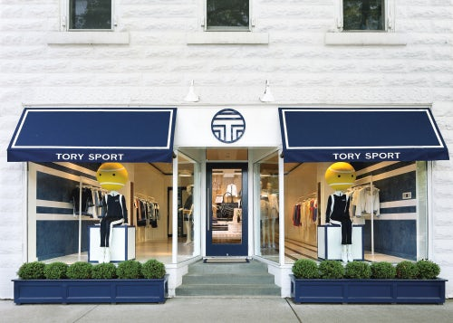The Tory Sport shop in East Hampton | Source: Courtesy