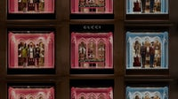 Gucci store fronts   Source: Courtesy