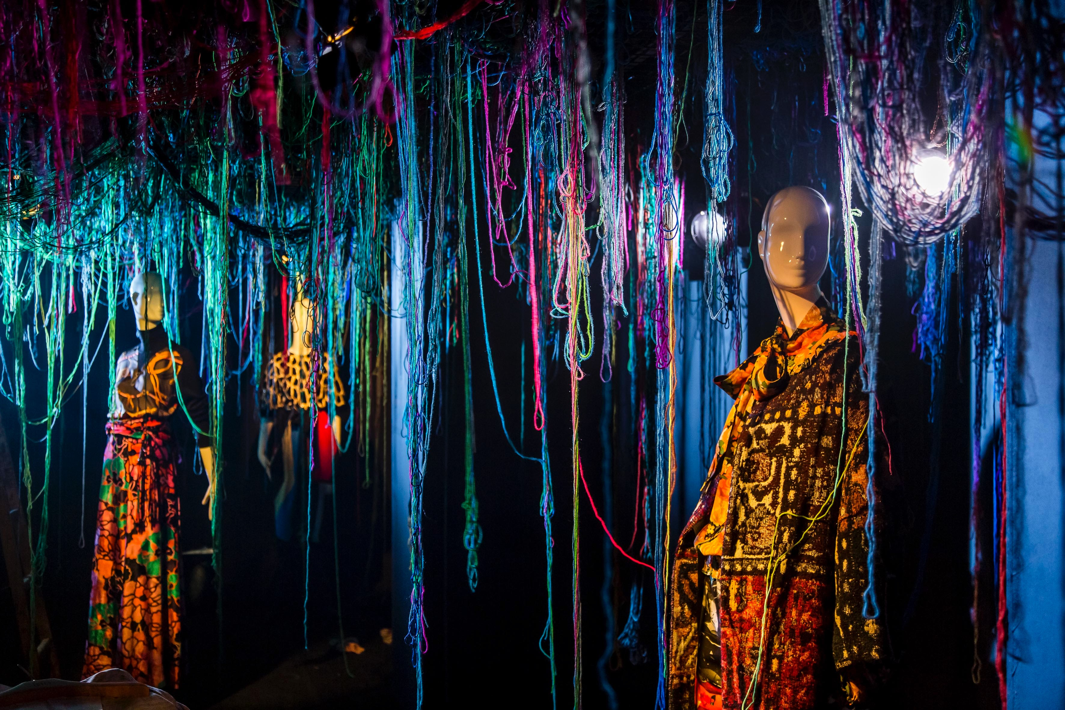 """Inside """"The Golden Needle,"""" Joyce's theatrical fashion exhibition   Source: Courtesy"""