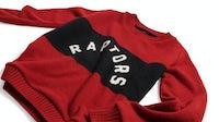 The Elder Statesman x NBA Toronto Raptors sweater | Source: Courtesy