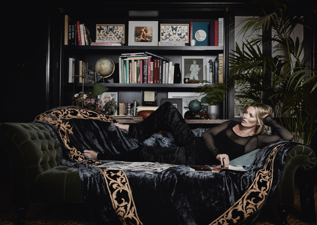 Kate moss inc how the world famous supermodel is building for The classic home company