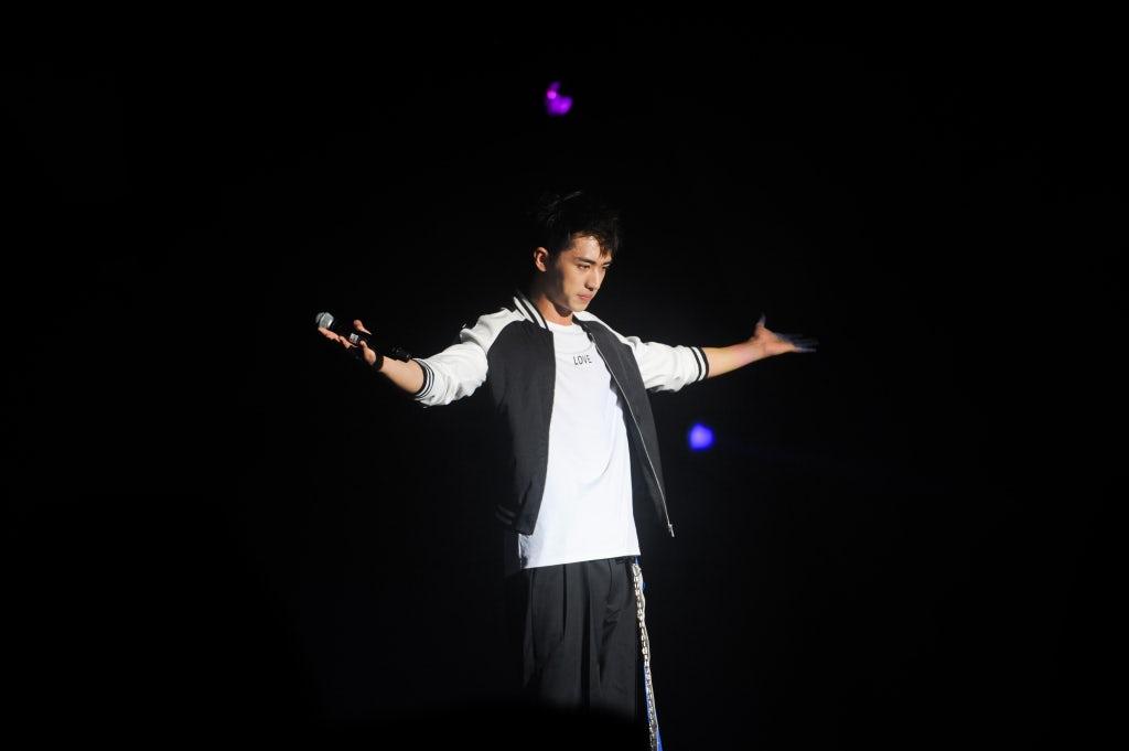 鸟人音乐节现场的年轻偶像许魏洲   图片来源:对方提供
