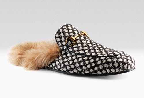 Gucci Princetown fur-lined leather shoes | Source: Courtesy