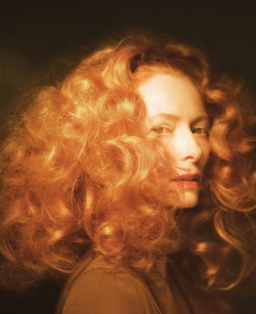 Tilda Swinton by Glen Luchford, hair by Sam McKnight | Source: Courtesy Conde Nast