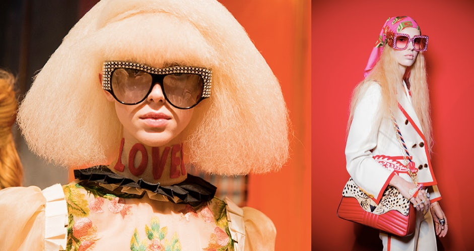 Gucci eyewear | Source: Kevin Tachman for Gucci
