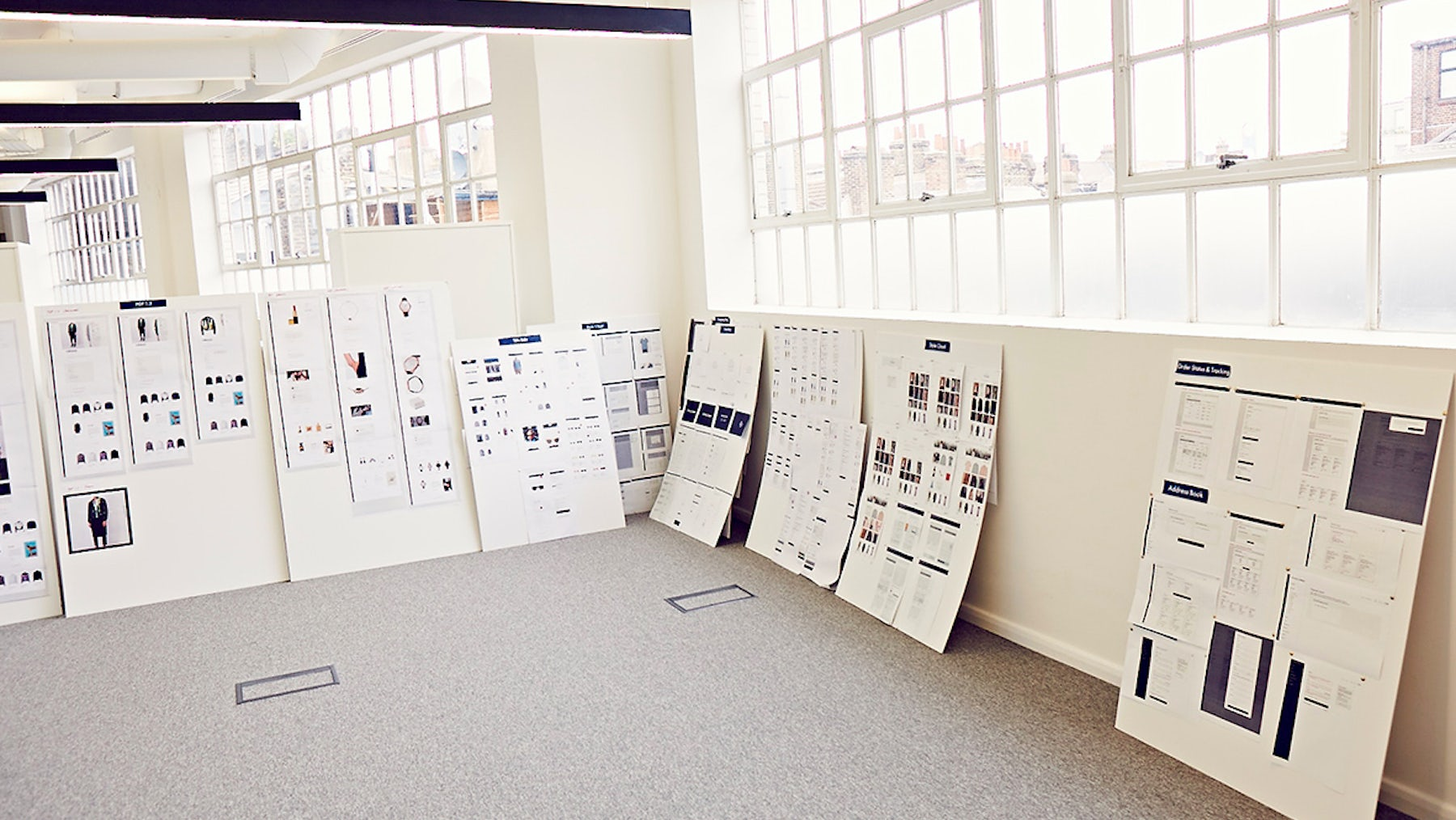 Inside Style.com's open-plan offices in the Camden neighbourhood of London   Source: Courtesy