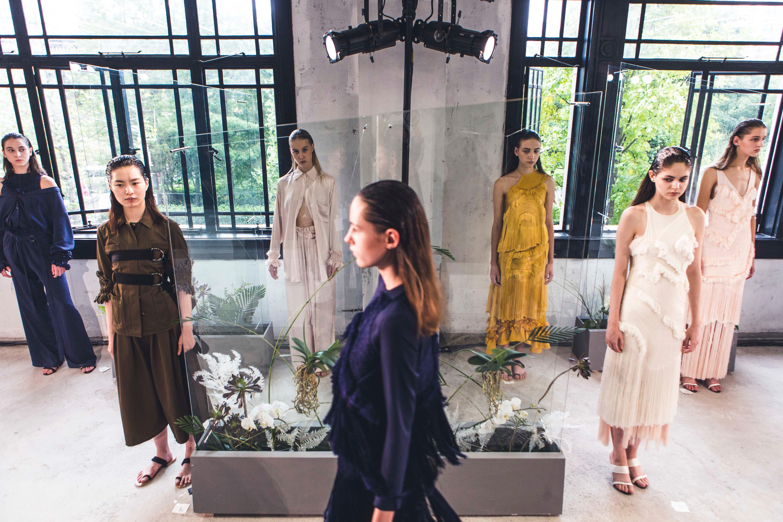 Xuzhi Spring/Summer 2017, Labelhood at Shanghai Fashion Week | Source: Courtesy