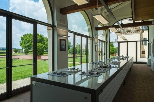 The Kering Eyewear showroom at the Kering headquarters in Padova, Italy | Source: Courtesy