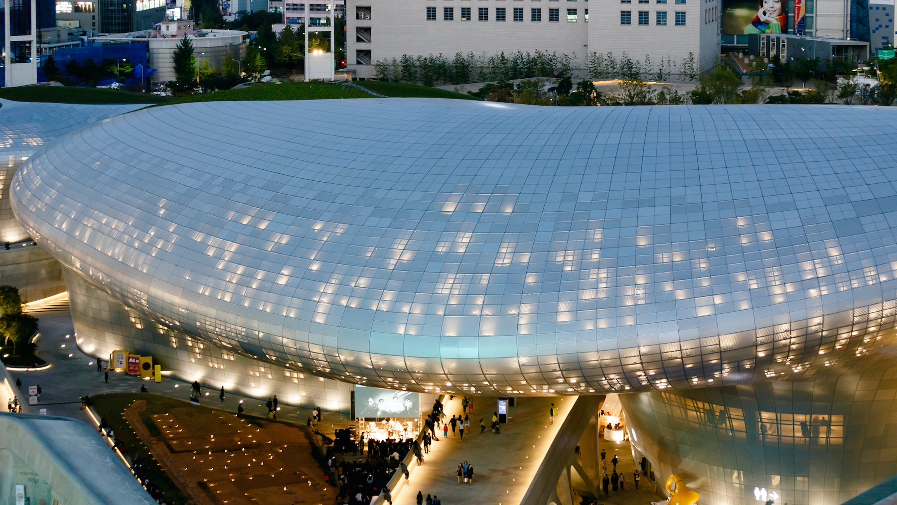 Seoul's Dongdaemun Design Plaza   Source: Shutterstock