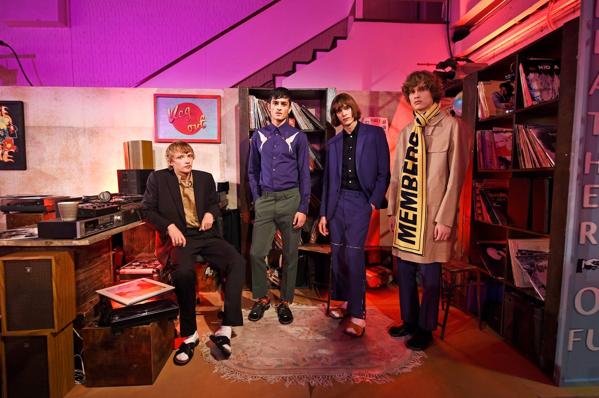 Stella McCartney Inspired by Dad for Debut Men's Fashion Line