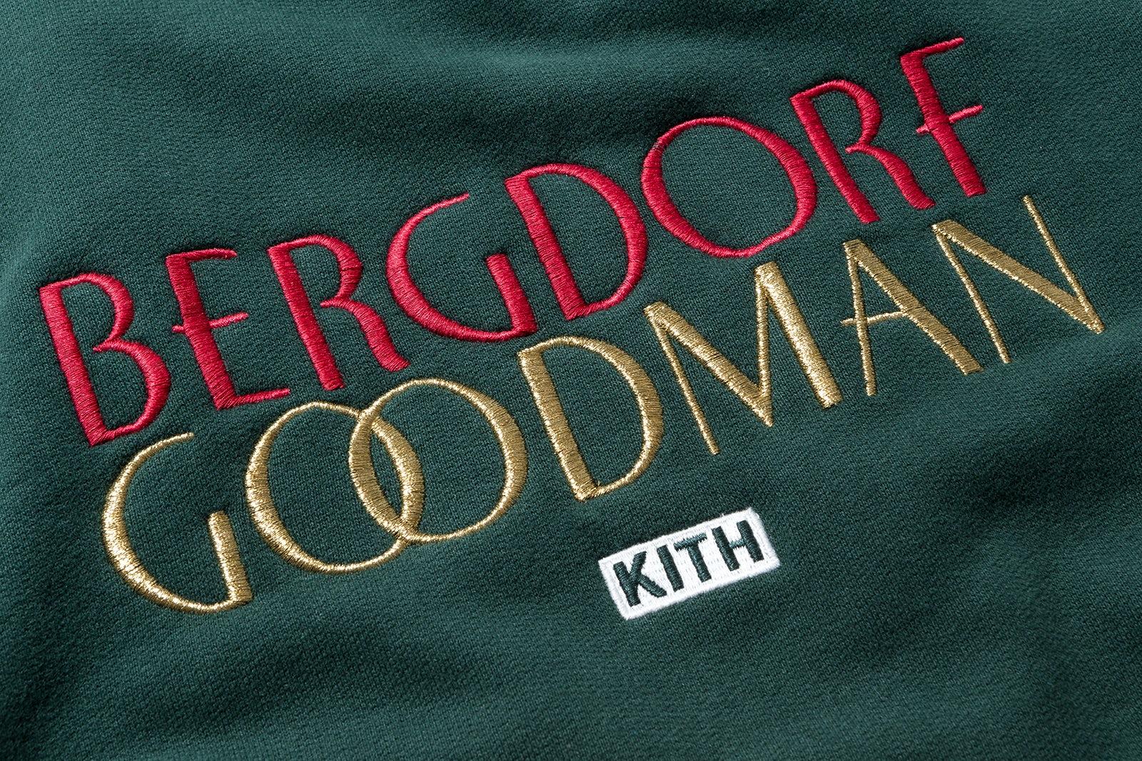 Bergdorf Goodman x Kith sweatshirt   Source: Kith