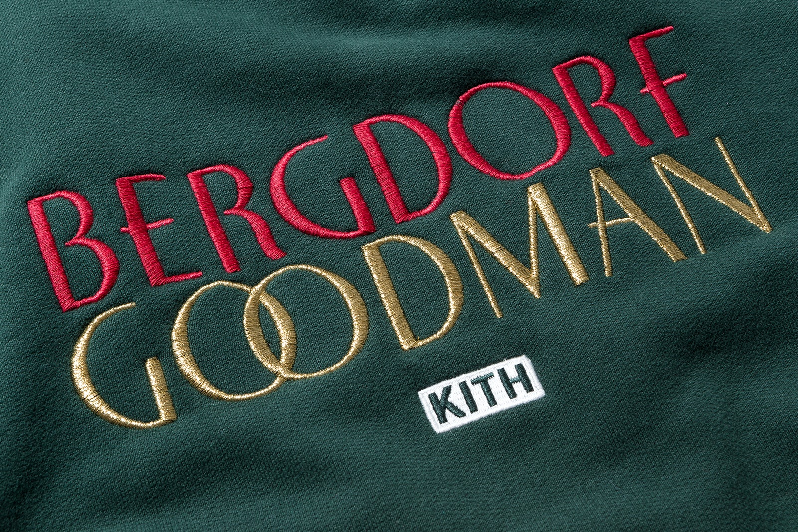 Bergdorf Goodman x Kith sweatshirt | Source: Kith