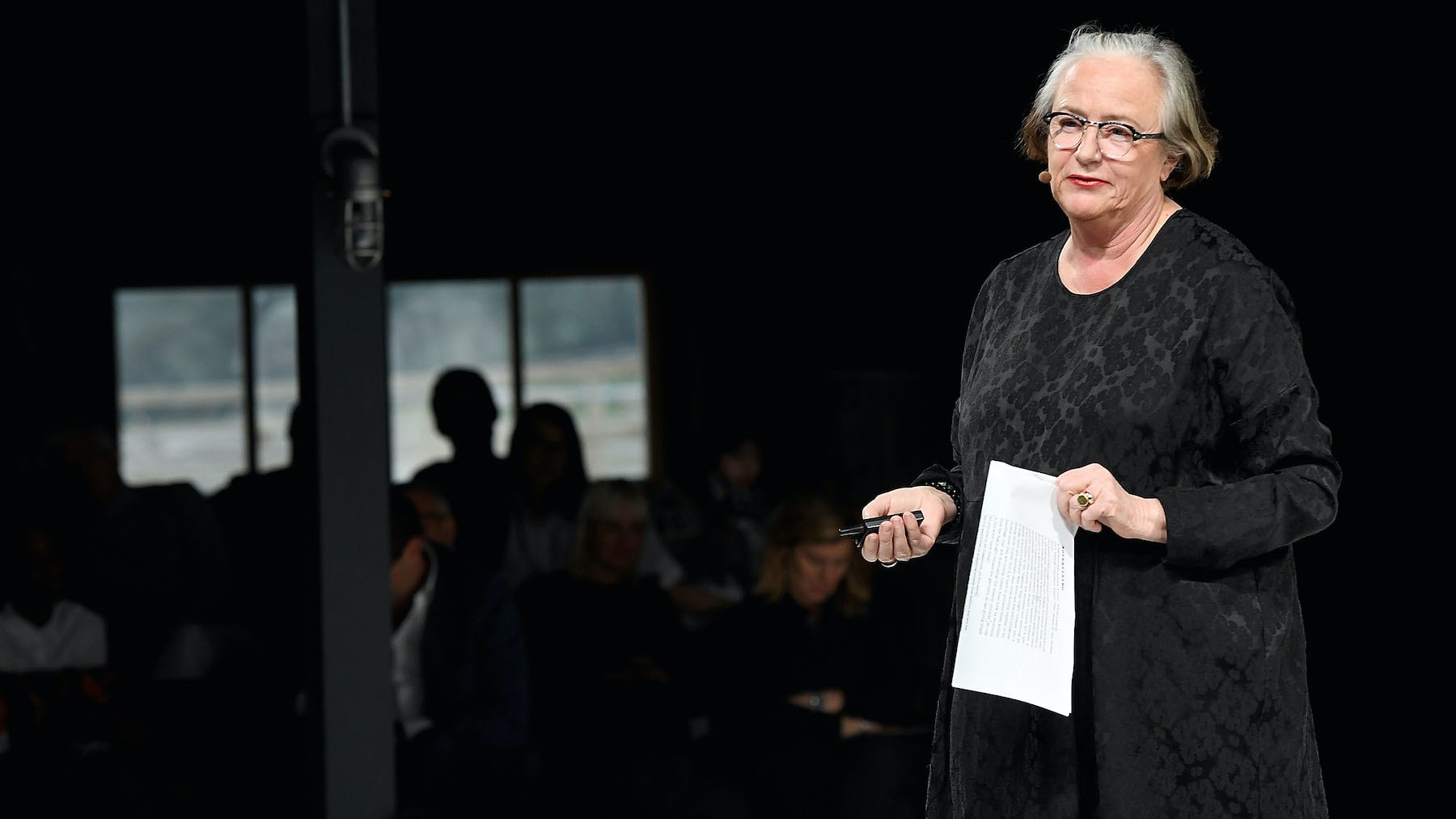 Li Edelkoort on the VOICES stage | Source: Getty