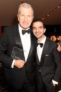 Mario Testino with BoF founder and CEO Imran Amed | Source: Getty