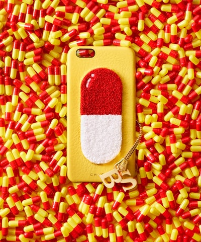 Chaos iPhone case with pill motif | Source: Courtesy