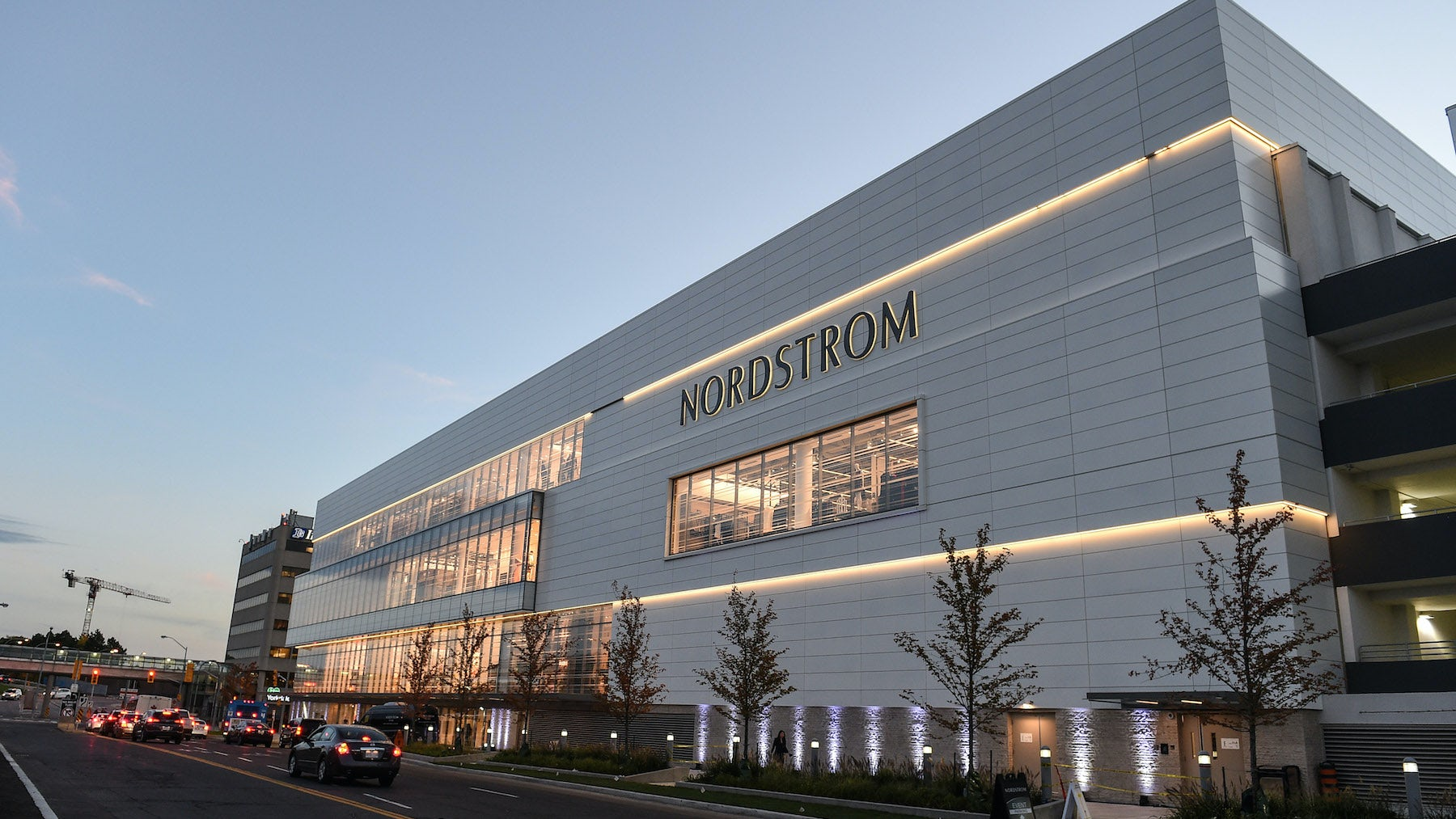 Nordstrom's new store at the Yorkdale Shopping Center, Toronto   Source: Courtesy