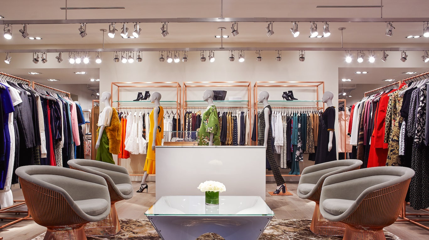Forty Five Ten's womenswear department | Source: Courtesy