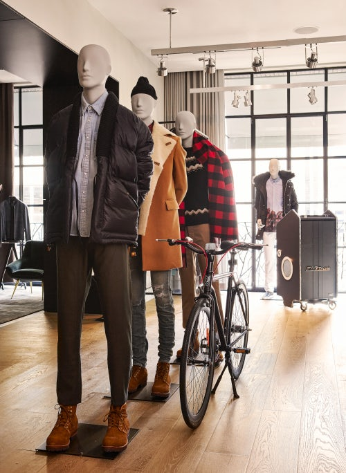 Forty Five Ten's menswear department | Source: Courtesy
