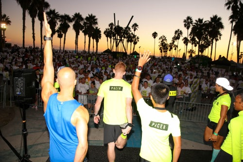 Nike + Run Club in Venice Beach, CA | Source: Brian Gove/Getty