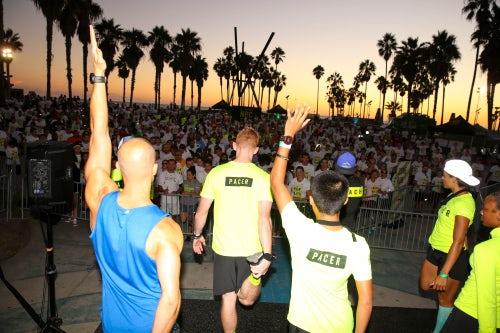 Nike + Run Club in Venice Beach, CA | Source: Brian Gove/Getty