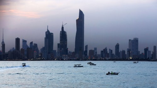 Kuwait City's skyline | Source: Yasser Al-Zayyat/Getty Images
