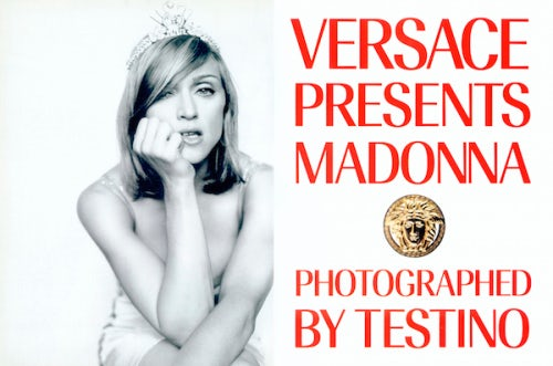 Madonna for Atelier Versace | Photo: Mario Testino/Courtesy
