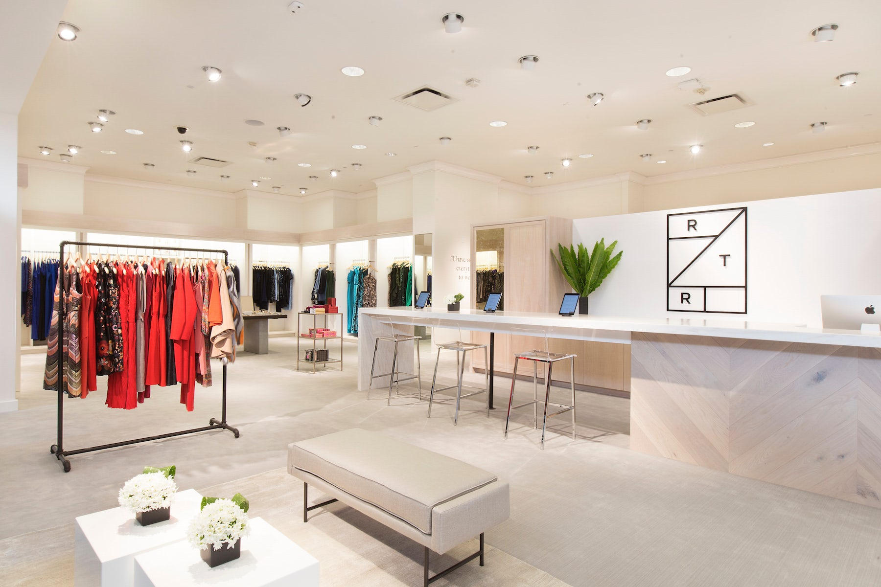 Rent the Runway's boutique in Neiman Marcus's San Francisco store | Source: Courtesy
