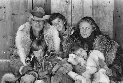 Lauren family portrait, Colorado 1977 | Source: Courtesy