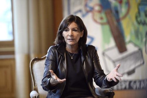 FRANCE-POLITICS-PARIS-COUNCIL-HIDALGO