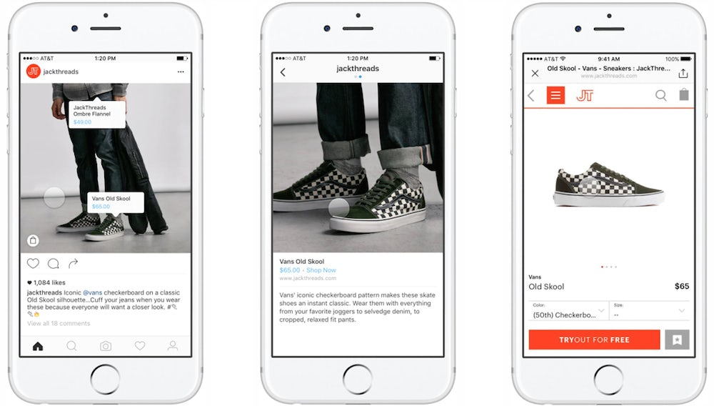 Instagram's shoppable photo tags | Source: Instagram