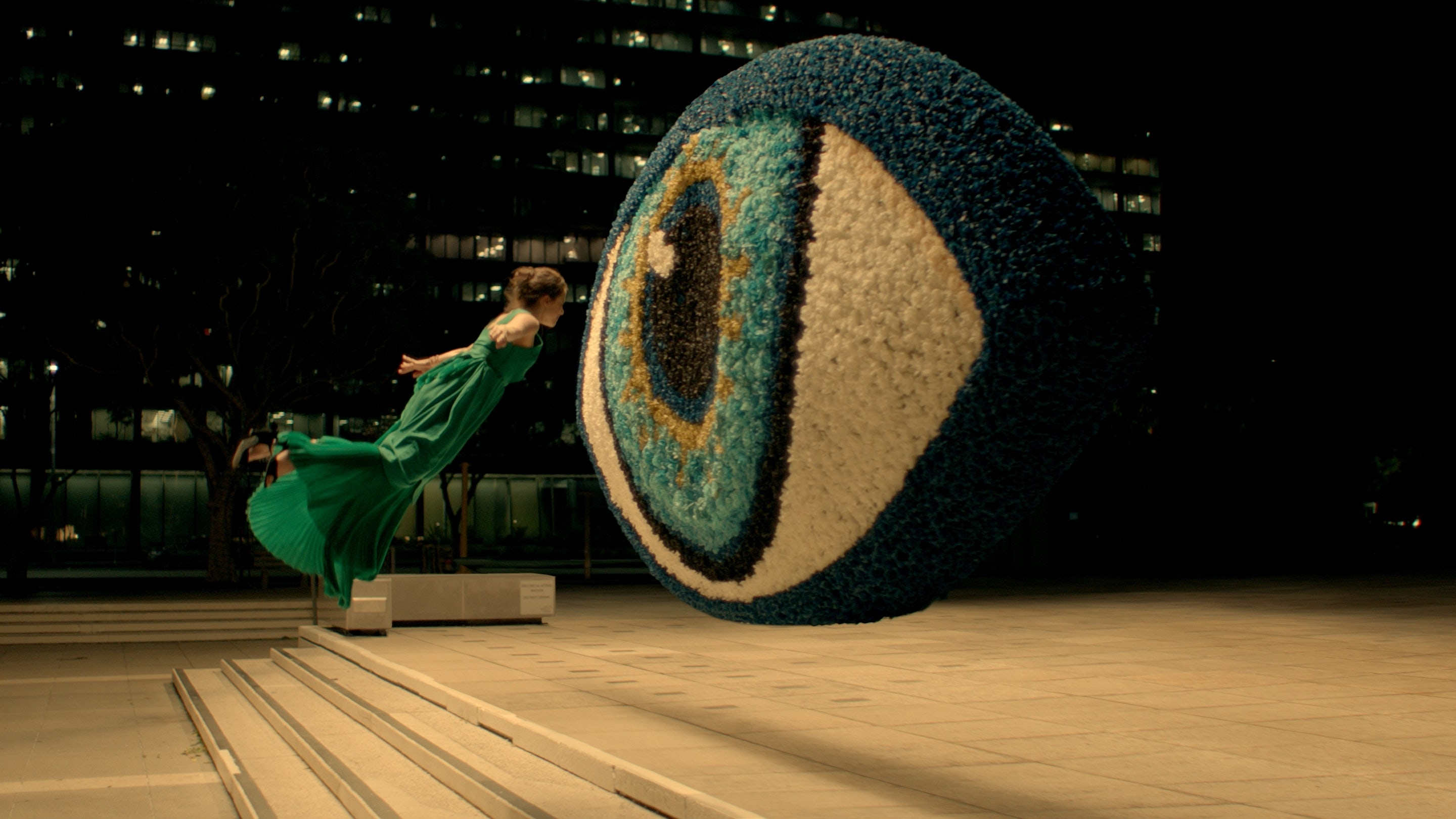 A still from the Spike Jonze film for Kenzo | Source: Courtesy