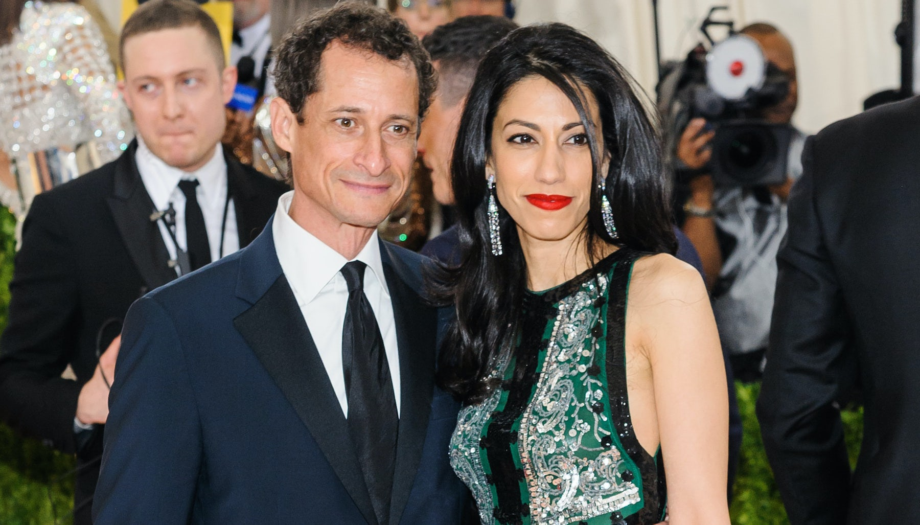 Anthony Weiner and Huma Abedin at the MET Gala 2016 | Source: Shutterstock