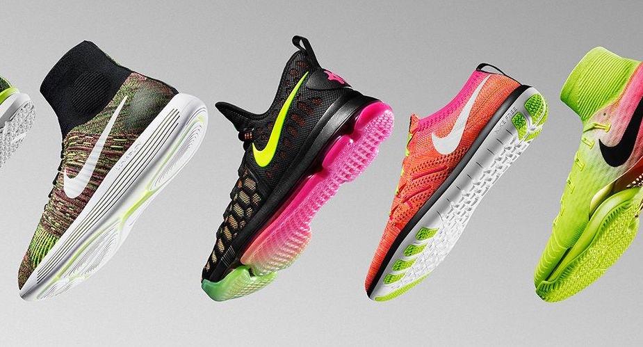Nike's Flyknit sneakers | Source: Courtesy