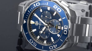 Tag Heuer watch | Source: Tag Heuer Facebook