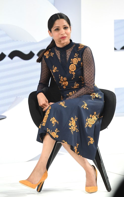 Freida Pinto at VOICES | Source: Getty
