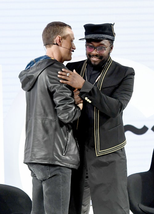 Ian Rogers and will.i.am | Source: Getty