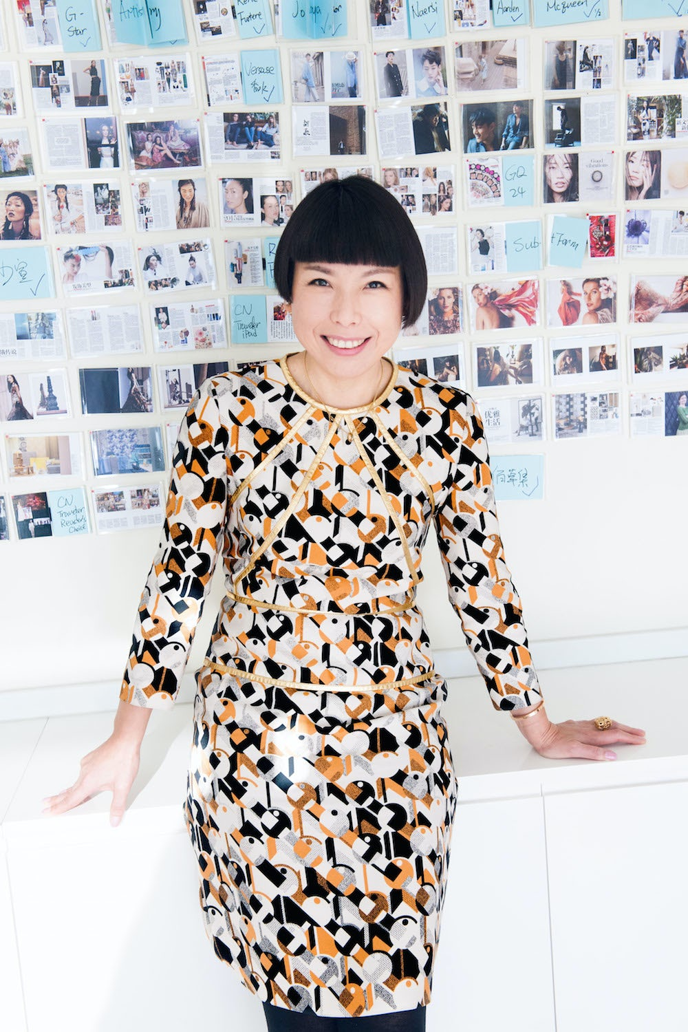 Angelica Cheung, editor-in-chief of Vogue China | Source: Courtesy