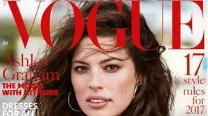 Ashley Graham on the cover of British Vogue's January edition | Source: Instagram/@theashleygraham