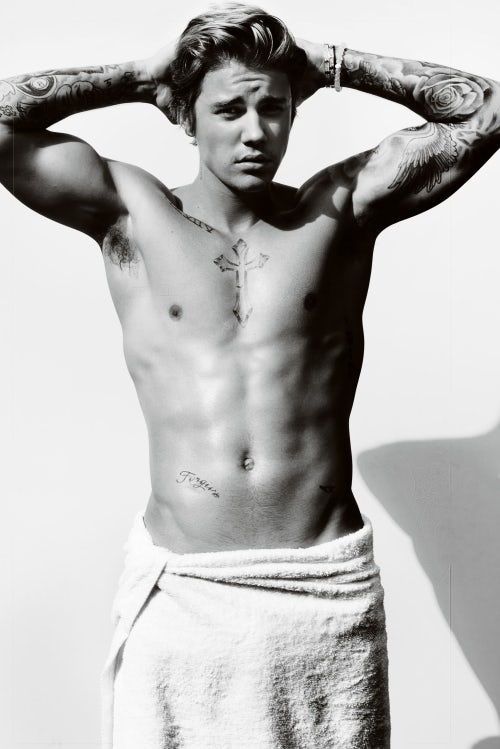 Justin Bieber for American Vogue 2015 | Photo: Mario Testino