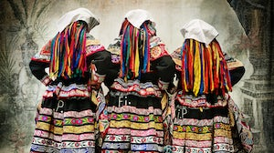 Women's costume for the Tupay dance in Peru | Photo: Mario Testino