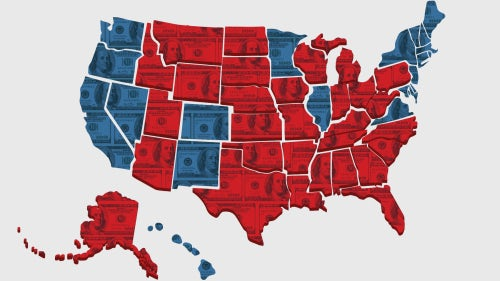 Divided America by Costanza Milano