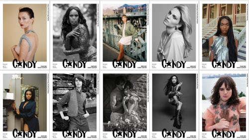 Candy Magazine Covers | Source: Courtesy