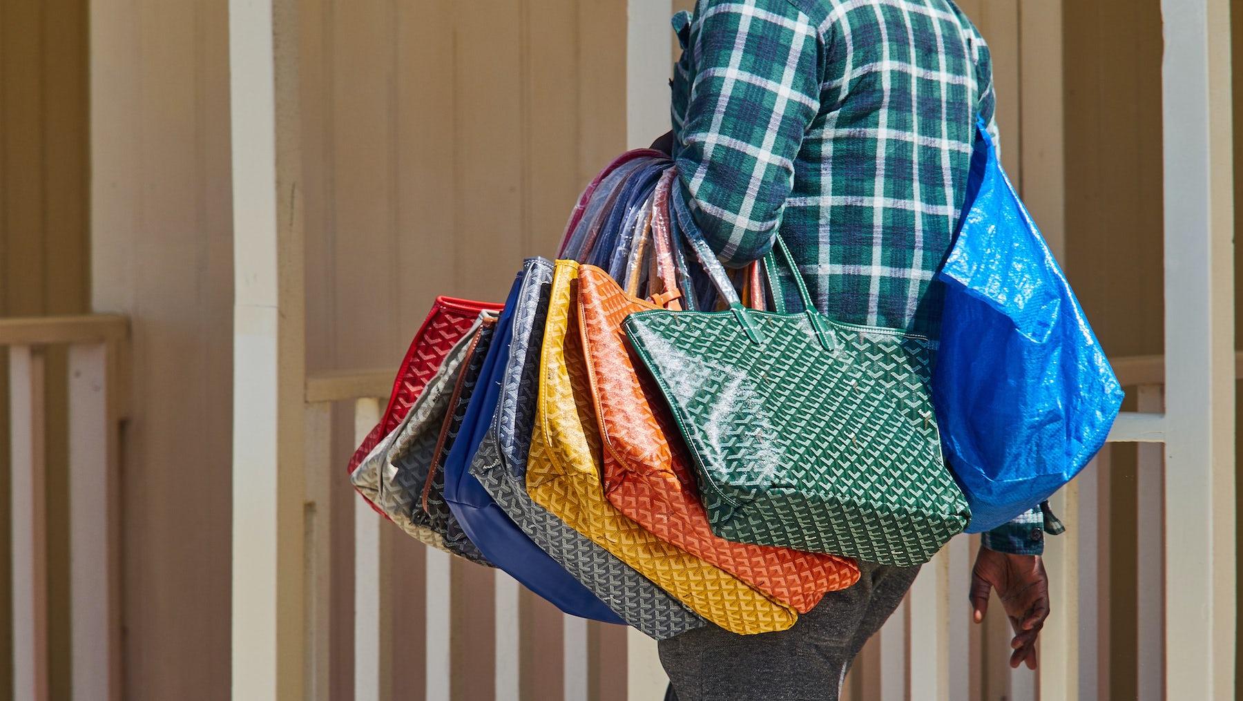 Counterfeit Goyard bags | Source: Shutterstock