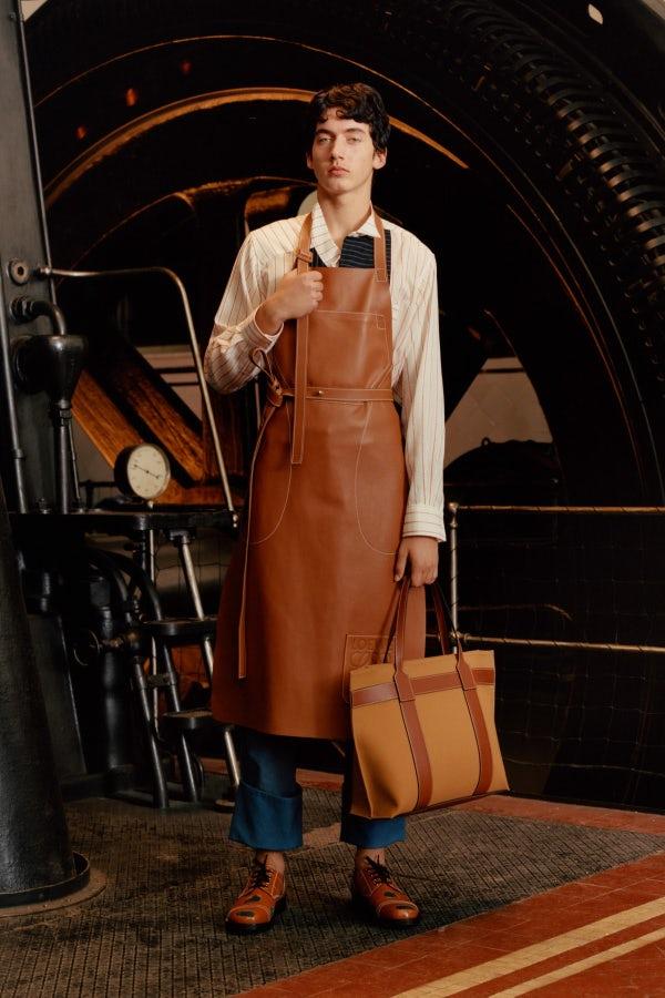Post-Industrial Fashion at Loewe