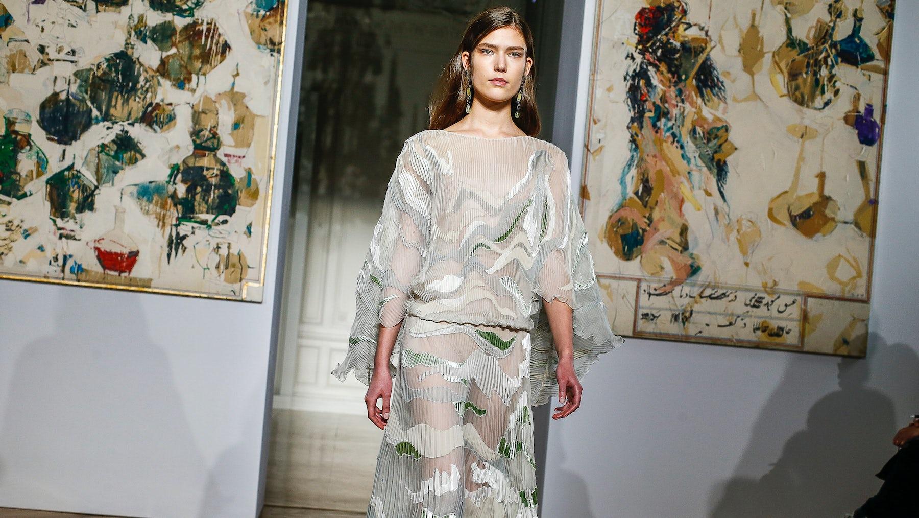 Valentino Haute Couture Spring/Summer 2017   Source: InDigital.tv