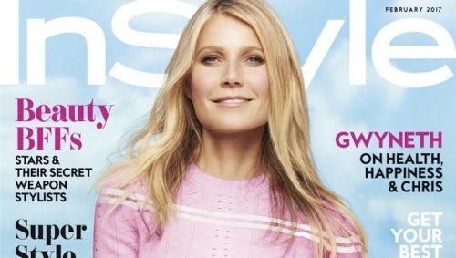 Gwyneth Paltrow on the February cover of InStyle | Source: Courtesy