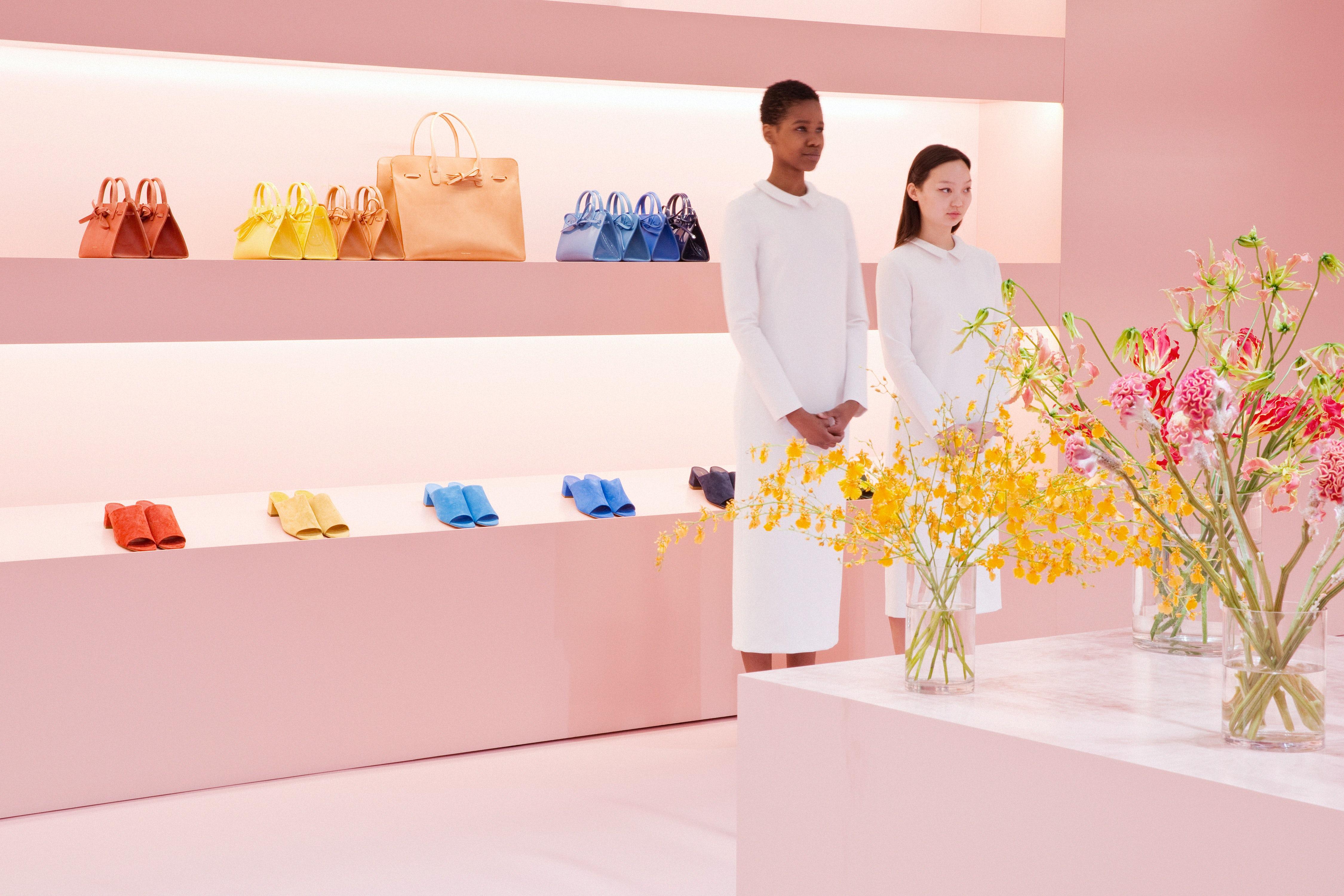 Mansur Gavriel's pop-up retail space in New York's SoHo | Source: Courtesy