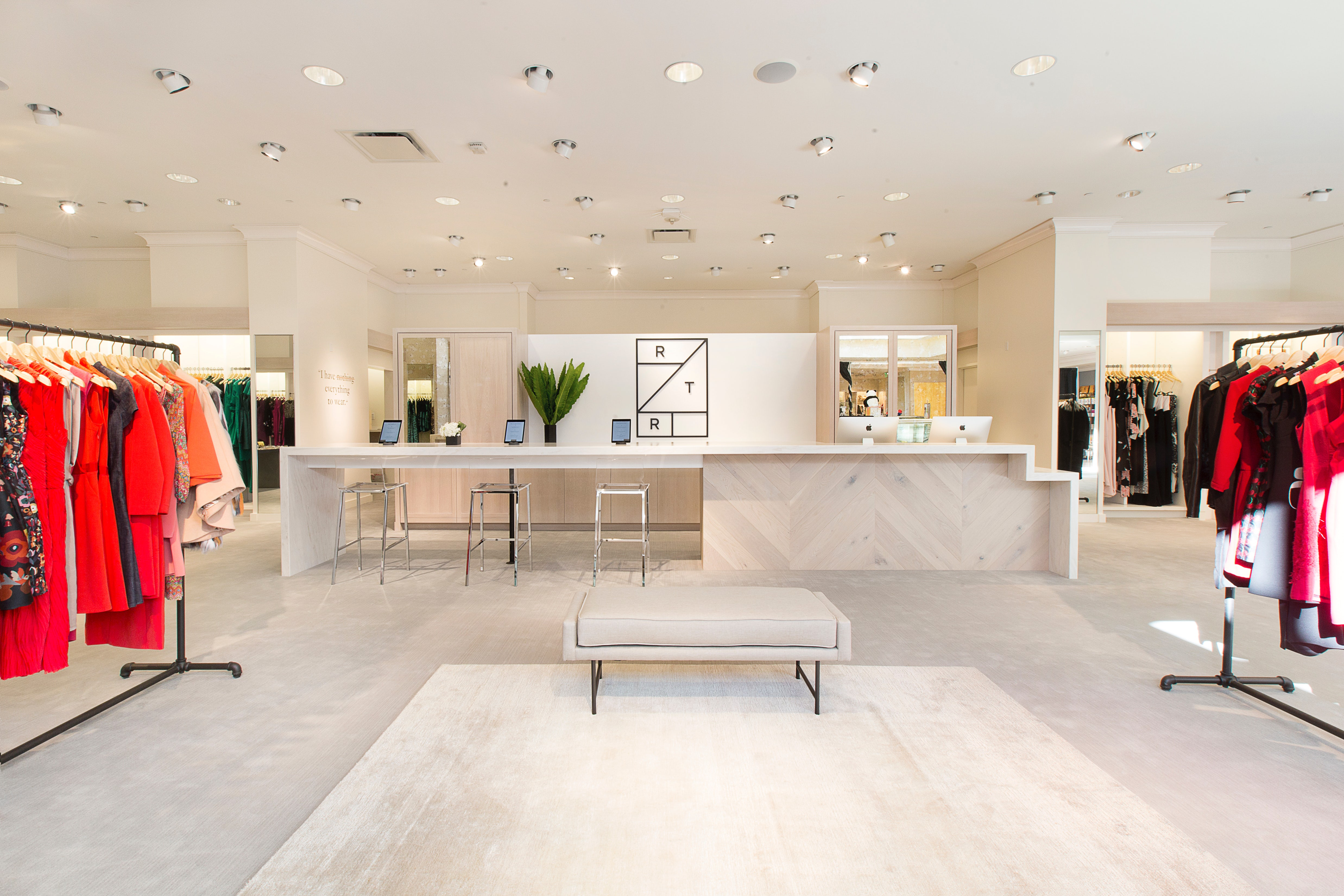 A Rent The Runway showroom | Source: Courtesy