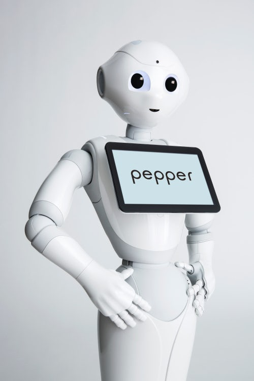 SoftBank Robotics' robot Pepper | Source: Courtesy