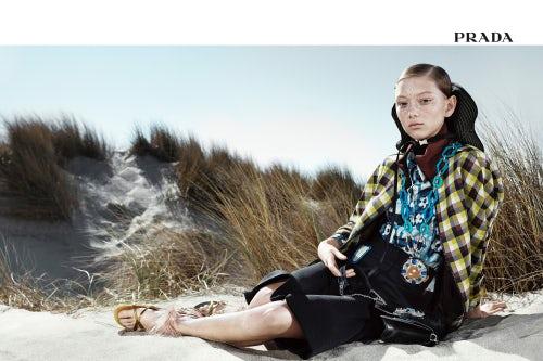 Prada Spring/Summer 2017 365 Campaign | Source: Courtesy